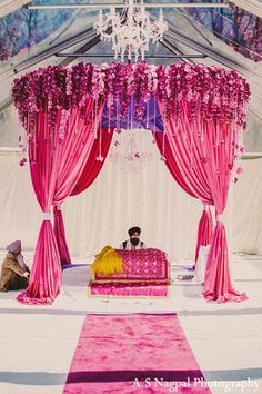 traditional indian wedding,indian wedding traditions,indian wedding traditions and customs,traditional indian wedding dress,indian wedding Indian wedding ideas inspirations latest trends Wedding Mandap, Desi Wedding, Wedding Stage, Wedding Ceremony, Punjabi Wedding Decor, Sikh Wedding Dress, Farm Wedding, Boho Wedding, Wedding Events