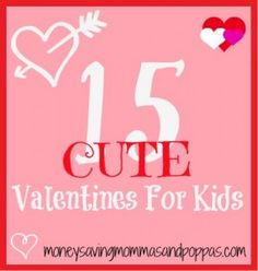 15 cute valentines for kids-Bling Ring & Juice Box Valentines Food, Valentine Day Love, Valentines For Kids, Valentine Day Crafts, Holiday Crafts, Holiday Fun, Valentine Ideas, Holiday Ideas, Homemade Valentines