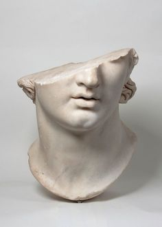 """F&O Fabforgottennobility hismarmorealcalm: Fragmentary Colossal Head of a Youth Greek Hellenistic period century B. Marble Antikensammlung, Staatliche Museen zu Berlin """"Pergamon and the Hellenistic Kingdoms of the Ancient World"""" Greek Statues, Angel Statues, Ancient Greek Sculpture, Buddha Statues, Stone Statues, Hellenistic Period, Greek Art, Metropolitan Museum, Oeuvre D'art"""
