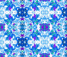 Blue_Lace. fabric by girl_pants on Spoonflower - custom fabric