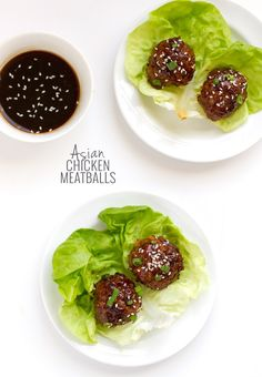 25 minute Asian Chicken Meatballs - is a low estimate in time required.