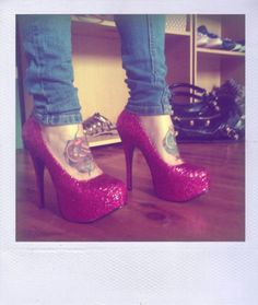 feelin these shoes.. not that i have anywhere to wear them..