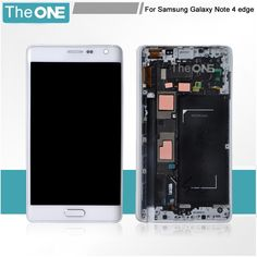 1382.00$  Buy now - http://alil7j.worldwells.pw/go.php?t=32636715879 - Black White Screen For Samsung Galaxy Note 4 Edge Display N9150 LCD Touch Digitizer Assembly With Frame Replacement Part! 1382.00$