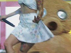 "dailymelaniegifs: ""Teddy Bear - LollaPalooza Brazil 2017 """