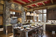 Rustic Kitchen - Come find more on Zillow Digs!