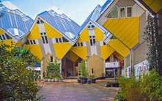 Rotterdam Gezi Rehberi Rotterdam, Opera House, Fair Grounds, Architecture, House Styles, Building, Outdoor Decor, Travel, Cube