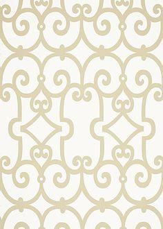 Manor Gate Wallpaper- not usually a fan of wallpaper but...