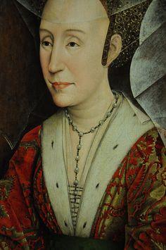 Portrait of Isabella of Portugal - Rogier van der Weyden
