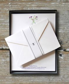 Writing Paper in Presentation Box, Premium quality 160gsm Oyster White with matching envelopes, both a joy to write on.  All despatched in our luxury gift boxes, hand made in Cornwall with our no-risk guarentee on all orders.  A great gift option and addition to a treasured stationery collection. #CreateABuzz