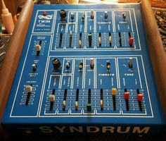 MATRIXSYNTH: Pollard Syndrum Twin Model 278 Analog Drum Synth