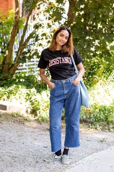 See why Toronto is an emerging fashion hub with the laid-back, style-stalking outfits ahead.