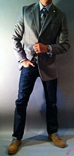 Men sport coat with jeans (63)