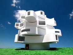 Houses by Michael Jantzen.