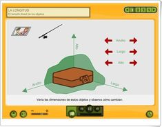 LA LONGITUD (Aplicación Interactiva de Matemáticas de Primaria) Map, Maths Area, Teaching Resources, Platform, Learning, Location Map, Maps