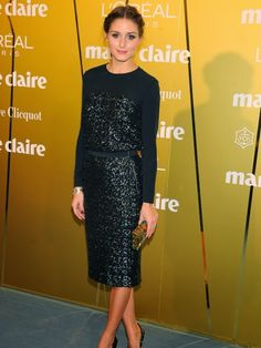 THE OLIVIA PALERMO LOOKBOOK: Olivia Palermo At Marie Claire Fashion Prix Awards