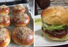 A hamburger zsemle receptje, el se tudom mondani, mekkora sikere lett! Twisted Recipes, Hungarian Recipes, Winter Food, Street Food, Food Videos, Food Inspiration, Baking Recipes, Food To Make, Breakfast Recipes