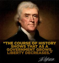 Thomas Jefferson wrote part of the Declaration of Independence in aPhiladelphia tavern Pray For America, God Bless America, Freedom Quotes, Thomas Jefferson, Jefferson Quotes, Political Quotes, Declaration Of Independence, Founding Fathers, Quotable Quotes