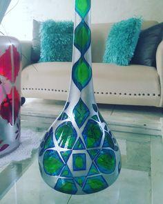 Vase, Bottle, Home Decor, Manualidades, Decoration Home, Room Decor, Flask, Vases, Home Interior Design