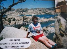 Jill Nico from September 1995 in a Young's Dairy t-shirt