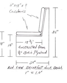 Window Seat Height seats should generally be between 16 and 20 inches in height and