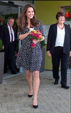 Kate Middleton: Pretty In Polka-Dots