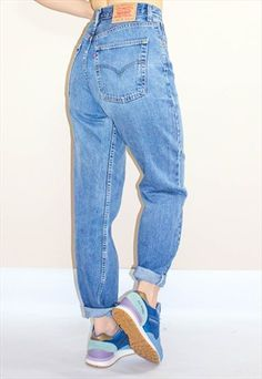 Vintage 80's Levi's 504 High Waisted Jeans