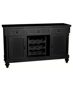 Acacia Buffet Table  $699.90  I really want a buffet table (or liquor bar/cabinet) for the back wall of my kitchen