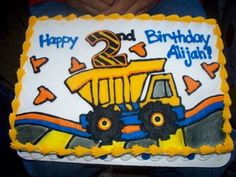 little boys birthday cake