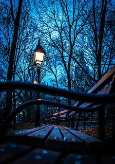Lantern in the park **