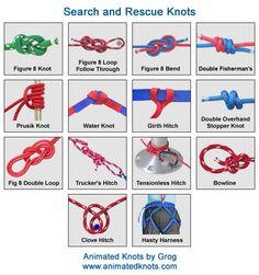 firefighting knots - Google Search