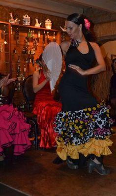 #performing / Flamenco dancer / Tablao / Maria Corina Salcedo / Caracas, Venezuela.