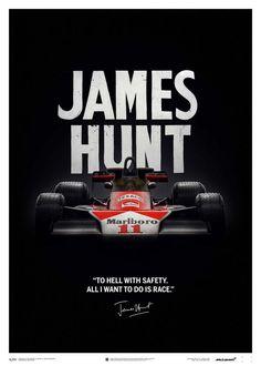 All i want to do is Race - James Hunt - 1976 World Champion James Hunt, Racing Wallpaper, F1 Wallpaper Hd, Wallpapers, Mclaren Formula 1, Formula 1 Car, Grand Prix, Racing F1, Drag Racing