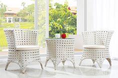 Zestaw ogrodowy RABR - 007 4 fotele