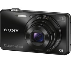 SONY Cyber-shot DSC-WX220B Compact Digital Camera - Black
