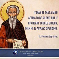 St. Poimen the Great
