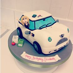 Muscle Car Cake Adult Cakes All Occasion Pinterest Car