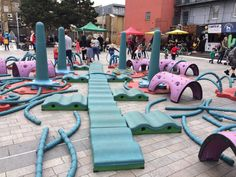 Pop up Playground will be in Gillett Square. See details at: http://www.gillettsquare.org.uk/events/