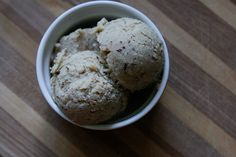 Raw Vanilla Ice Cream Crunch