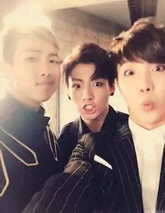 BTS being weird. Of course, Rapmon had to make it slightly creepy.