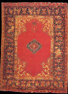 Anatolian Ushak rug, 17th century, John D.McIlhenny Collection. Philadelphia Museum of Art. inv. no: 43-40-59
