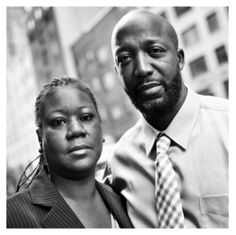 Trayvon Martin's parents.