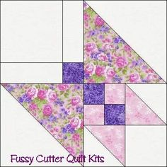 butterfly quilt block >> I've made this one several times. Fun to do and results are great. - Picmia