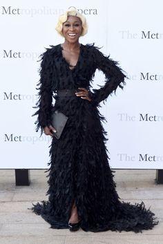 Cynthia Erivo attends the Met Opera 2016-2017 Season Opening