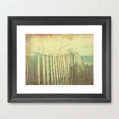 Briny Framed Art Print by V. Sanderson / Chickens in the Trees - $42.00