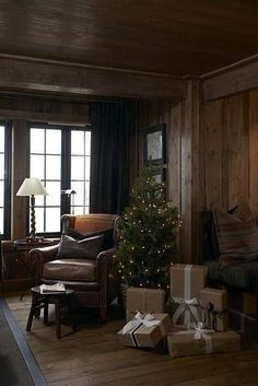 Christmas in a Norwegian Cabin