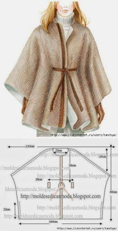Пальто - простой крой