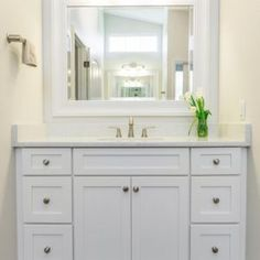 wooden bathroom cabinets white
