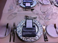 Beautiful wedding place setting. Wedding reception ideas, wedding tablescape, Calgary wedding