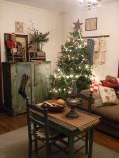 Cute primitive Christmas!
