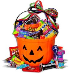 only treats halloween gift basket pintowingifts - Halloween Gifts Kids